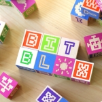 Pixel-inspired Wooden Blocks