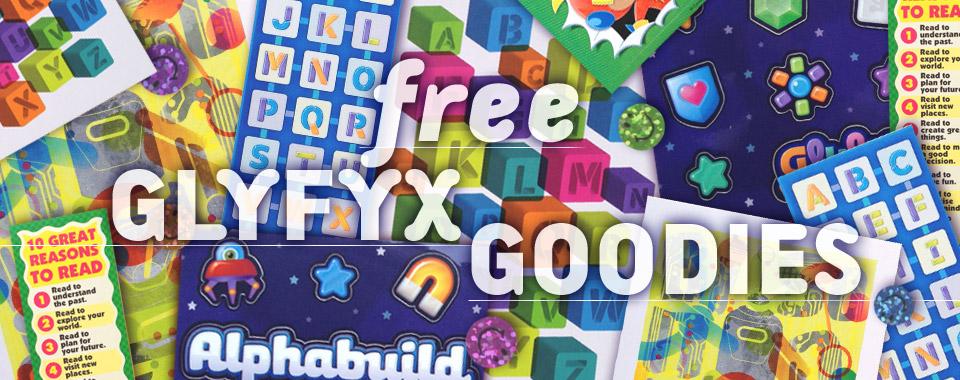 Glyfyx Free Alphabet Goody Pack