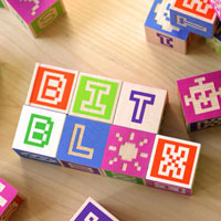 NEW PRODUCT: Bitblox Wooden Alphabet Blocks