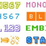Bitblox Font Family - 960x249