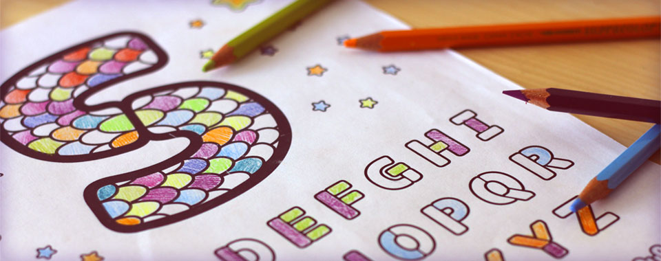 Color The Alphabet!