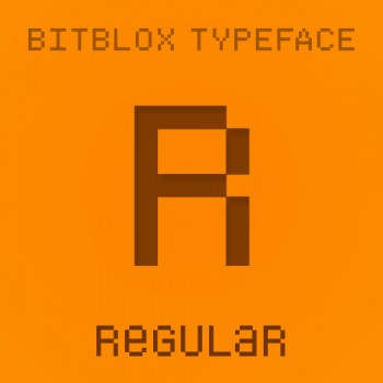 Bitblox Regular: Font