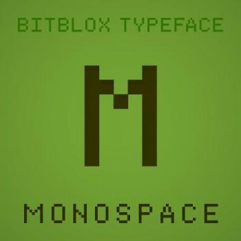 Bitblox Monospace: Font