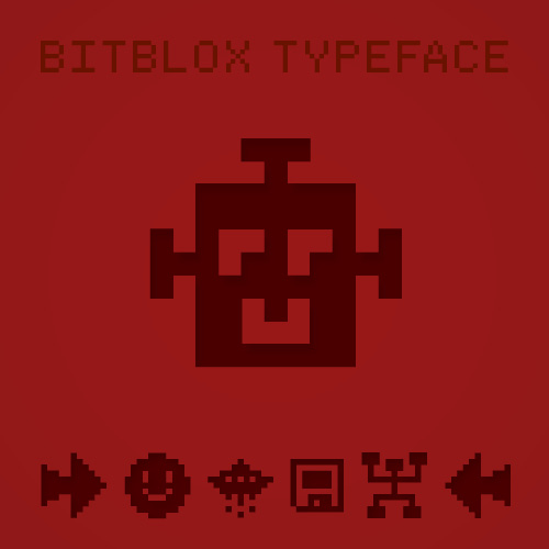 Bitblox Dingbats: Font