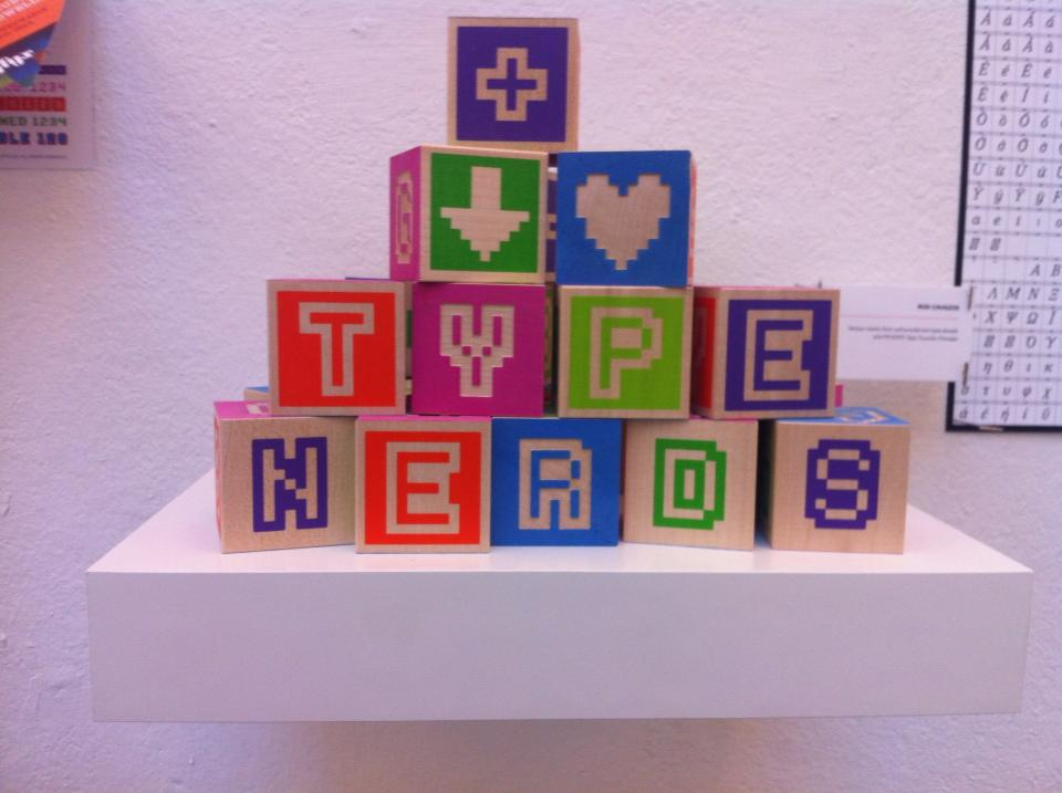 Bitblox are for Type Nerds at CCA